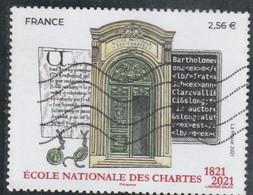 FRANCE 2021 ECOLE NATIONALE DES CHARTES OBLITERE - YT 5472 - Oblitérés
