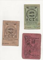 3    CARTES    CONFÉDÉRALE - Unclassified