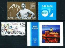 Estonia Nº 564-567-569-571 Nuevo - Estland