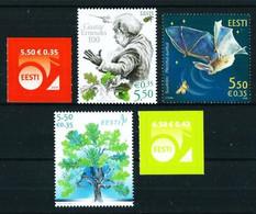 Estonia Nº 557-558-561-562-563 Nuevo - Estland