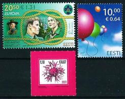 Estonia Nº 544-545-547 Nuevo - Estland