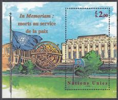 UNO GENF  Block 12, Postfrisch **, In Memoriam, 1999 - Hojas Y Bloques