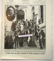 """Magazine Belge Avec  Article """"Le Centenaire Du Violoniste Vieuxtemps à Verviers"""" 1920 - Collections"""