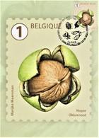 """Reeks Van 10 Maximumkaarten Bpost """"Boomvruchten"""" Marijke Meersman Stempel 1ste Dag Brussel-Bruxelles 14-06-2021 - Unused Stamps"""