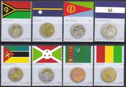 UNO GENF 2015 Mi-Nr. 888/95 Einzelmarken ** MNH - Ungebraucht