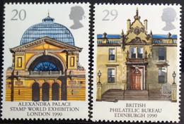 EUROPA 1990 Grande Bretagne Yv 1456/7 MNH Neufs** - - 1990