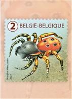 """Reeks 5 Blanco Maximumkaarten Bpost """"Driekleur"""" Marijke Meersman - Unused Stamps"""