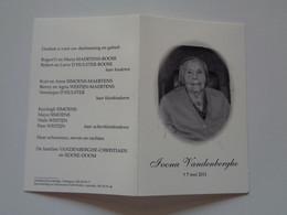 Doodsprentje/Bidprentje  104 Jarige  Ivona Vandenberghe  Ichtegem 1907-2011  (Wwe Alberic ROOSE) - Religion & Esotérisme