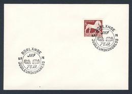 Sweden Sverige 1976 Brief Cover - 75 Jahr JHF Jubileumskongress, 1976, Borlänge / Eisenbahn Mitarbeiter Verband - Treinen