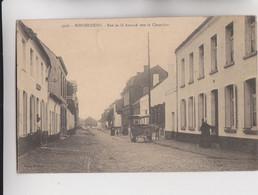CPA - BELGIQUE - BONSECOURS - Rue De Saint-Amand Vers Le Cimetière, Belle Calèche à Cheval - CARTE RARE - Photo Delsart - Péruwelz