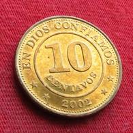 Nicaragua 10 Centavos 2002 Wºº - Nicaragua