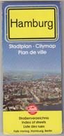 FALK PLAN ,HAMBURG ,STADTPLAN ,CITY MAP ,PLAN DE VILLE - Mappamondo