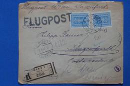 AA10 AUTRICHE  LETTRE RECOM.  1925  WIEN   POUR KLAGENFURT+ AEROPHILATELIE  + AFFRANCH. INTERESSANT - Luftpost