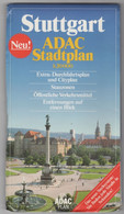 ADAC STADPLAN 1.20000, STUTTGART - Mappamondo