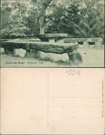 Ansichtskarte Rauen (Mark)-Spreenhagen Rauensche Berge Steinerner Tisch 1914 - Ohne Zuordnung
