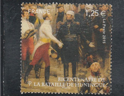 FRANCE 2015 BATAILLE DE HUNINGUE YT 4972 OBLITERE - Usati