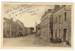 SAULGES (53) - Rue Principale - HOTEL DES GROTTES - Ed. CIM - Otros Municipios