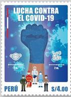 Peru 2021 Health & Medicine Covid 19 Coronavirus X3 - Disease