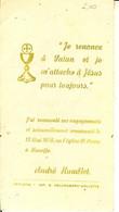Faire-part De Communion Solennelle De André Humblet En 1956 à HANEFFE . - Communion