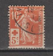 Croix-rouge De 1914 N°147 - Gebruikt