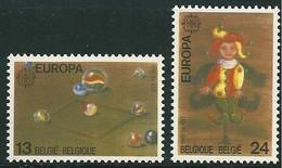 EUROPA 1989 Belgique Yv 2323/4 MNH Neufs** - - 1989