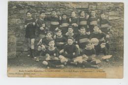 """SAINT CÉRÉ - Ecole Primaire Supérieure De SAINT CÉRÉ - Football Rugby """"L'Esperanto """"- 2ème équipe - Saint-Céré"""