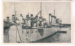CPA NAVIRE DE GUERRE  REGIA NAVE R.N. S, SCHIAFFINO - Guerra