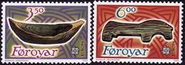 EUROPA 1989 Féroé Yv 176/7 MNH Neufs** - - 1989