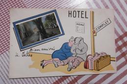 D 13 - Bien Arrivés à Istres - Hôtel Complet - Humour - Istres