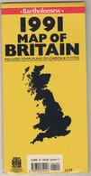 BARTHOLOMEV ,1991 MAP OF BRITAIN, - Atlases, Maps