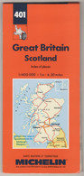 401 ,MICHELIN,,GREAT  BRITAIN SCOTLAND - Atlases, Maps