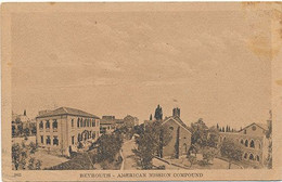 BEYROUTH - N° 983 - AMERICAN MISSION COMPOUND - Libanon