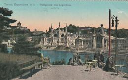 Italie - TORINO - Esposizione 1911 -  Padiglione Dell' Argentina - Voir Verso Cachet Flamme - Exhibitions