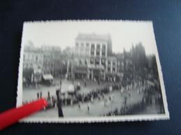 Photo  Procession Du Car D'or Mons En 1952 (10cm/8cm) - Lieux