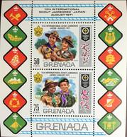 Grenada 1971 Scout Jamboree Scouts Minisheet MNH - Grenade (...-1974)