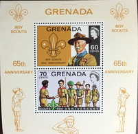 Grenada 1972 Scouts Anniversary Minisheet MNH - Grenade (...-1974)