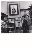 JEAN PIERRE LEAUD ET FRANCOIS TRUFFAUT - FESTIVAL DE CANNES 1959 - CARTE. - Attori