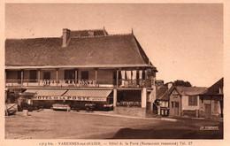 Varennes-sur-Allier - Hôtel De La Poste, Restaurant Renommé - Carte La Cigogne N° 1303 Bis Non Circulée - Hotels & Restaurants