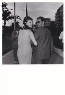 ANNA KARINA - JEAN LUC GODARD - FESTIVAL DE CANNES 1963 - CARTE. - Attori