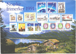 Norway:Stamps From 1991 - Stamps (pictures)