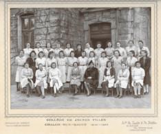 Photo Scolaire Du Collège De Jeunes Filles De Chalon-sur-Saône (1940-1941) - Autres
