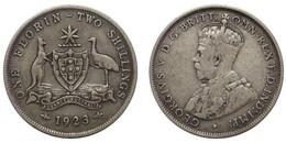 Florin 1923 (Australia) Silver - Florin
