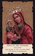 MARIA SS. DEL CASTAGNO - Montecompatri - E - PR - Mm. 61 X 107 - Ed. S.L.E. - Religione & Esoterismo