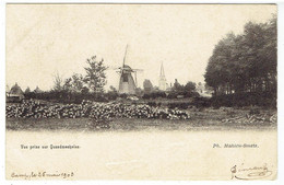 Vue Prise Sur QUAEDMECHELEN - Ham - 1903 - Molen - Moulin - Ham
