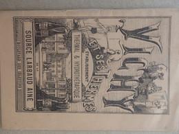 Dépliant Touristique De Vichy (03) Et Ses Thermes De La Source Larbaud Aine Saison 1883. 32 Pages. - Dépliants Touristiques