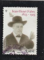 FRANCE 2015 OBLITERE JEAN HENRI FABRE YT 4980 - - Usati