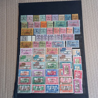 Collection Séries Complètes & Incomplètes MNH** - MH* Dont Taxe ( Manque Le N° 17 ) & P.A. - Collections, Lots & Series