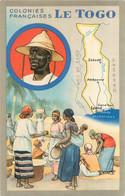 LE TOGO  COLONIE  FRANCAISE PUBLICITE PRODUITS DU LION NOIR - Togo