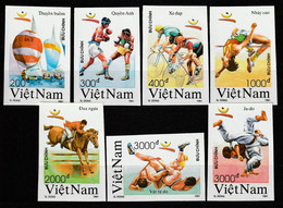 VIETNAM - N°1164/70 ** (1991) J.O D'été à Barcelone - NON DENTELE - - Vietnam