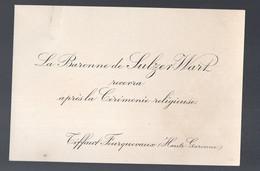 Tiffaut Fourquevaux (31 Haute Garonne)  Carton D'invitation Post-cérémonie  1925  (PPP31592) - Wedding